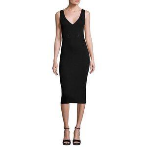 Michael Kors   Sleeveless V-Neck Ribbed Dress NWOT